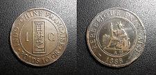 Indochine Française - 1 centième 1888A - JL#40