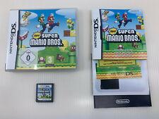 New Super Mario Bros. Nintendo DS - European Version + Super Mario Figur
