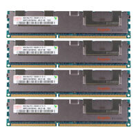 For Hynix 2RX4 4x 8GB DDR3 1333MHz PC3-10600R Reg-DIMM ECC Server Memory RAM @RY