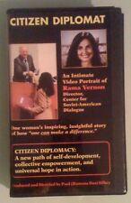 CITIZEN DIPLOMAT an intimate video portrait of rama vernon   VHS VIDEOTAPE