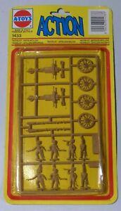 """A-Toys Action Waterloo British Artillery #1433 Model Vintage 1983 ESCI NOS """"L1"""""""