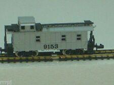 N Scale Ihc 3 Window Undec Caboose Silver 3 Window Standard # 3288S Mehano