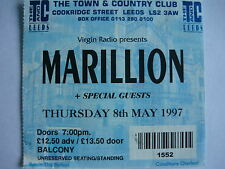 MARILLION - LEEDS 8/5/97 CONCERT TICKET