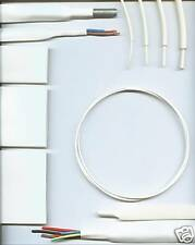 50.8mm WHITE HEATSHRINK TUBING HEAT SHRINK per half mtr