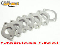 """Exhaust Stainless Steel Flanges - 45mm 1.75"""" Bore Tube 2 Bolt Flange"""