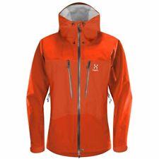 HAGLOFS Roc Pro Goretex Jacket   Habanero Red Climbing Size Medium   RRP £470