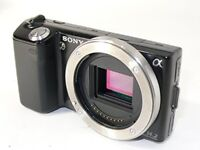 Nex-5 Black Sony Body Used