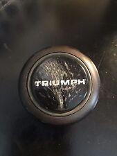 69 70 71 72 73 74 Triumph TR6 OEM Steering Wheel Center Horn Button 33690A Lucas