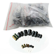 18 value 180pcs Computer VGA Motherboard Electrolytic Capacitor Assortment Kit