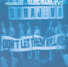 Passengers Miss Sarajevo U2 One Orchestral 4 track cd single Brian Eno Pavarotti