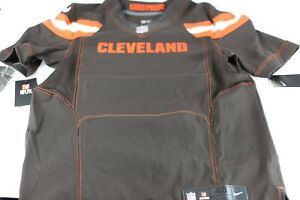 NWT Nike Cleveland Browns BLANK Color Rush On Field 40 Dawg Pound Jersey $325