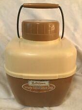 Vintage Retro Picnic Camping Lustroware Triple Insulated One Gallon Jug