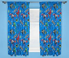 "JUSTICE LEAGUE INCEPTION NEW DESIGN 66"" X 72"" INVINCIBLE CURTAINS KIDS"
