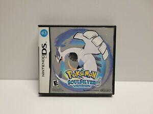 Pokemon Soul Silver (Nintendo DS) Original Case Only Authentic