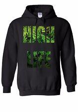 High Life Weed Drug Funny Men Women Unisex Top Hoodie Sweatshirt 1281