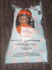 2003 Madame Alexander Doll McDonalds Happy Meal Toy  - Halloween Pumpkin #5