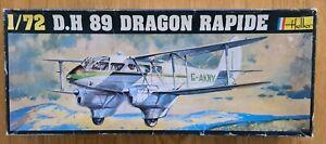 Heller D.H 89 DRAGON RAPIDE 1/72 Scale Model Kit.