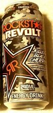 2017 FULL Can 16 oz ROCKSTAR Energy Drink REVOLT KILLER BLACK CHERRY