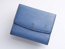 H5112E Authentic Louis Vuitton Epi Trifold Card Case