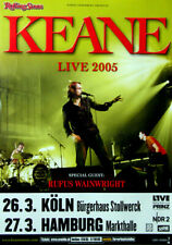KEANE - 2005 - Konzertplakat - In Concert - Wainwright - Tourposter