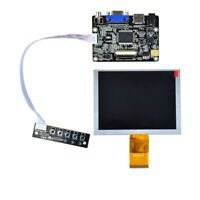 "ZJ050NA-08C LCD Screen 5"" 640x480 display panel with VGA HDMI LCD Control Board"