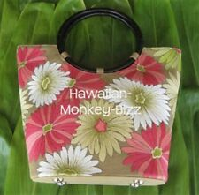 "NEW! ~ DESIGNER EMBROIDERED ""TAN - SPRING FLOWERS"" BAG!"