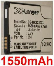 Batterie 1550mAh Pour BLACKBERRY Curve 9220 9230 Curve 9310 9315 9320 JS1