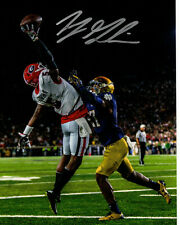 Terry Godwin Georgia Bulldogs Autographed 8x10 Photo Notre Dame Catch Beckett