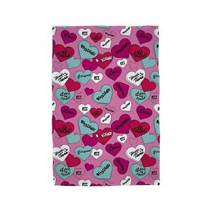Hearts By Tiana Official Pink Fleece Blanket Bed Throw TT Squad Tiana Toys & Me