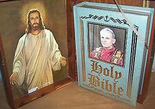 HOLY BIBLE POPE JOHN PAUL II Limited Edition Family Heirloom Wedding Gift VTG
