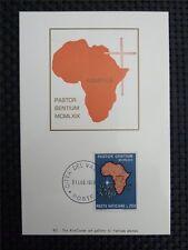 Vatican Mk 1969 uganda África africa maximum tarjeta Carte maximum card mc cm c4489