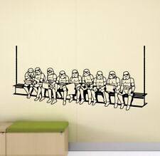 Stormtrooper Wall Decal Vinyl Sticker Star Wars Poster Movie Theater Decor 863