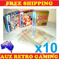 Thick GAME BOX PROTECTORS Cases Nintendo GameBoy / Color / Advance BOXED Games