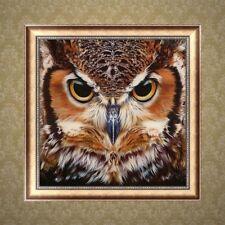 5D Owl Diamond Embroidery DIY Painting Rhinestone Cross Stitch Decor Gift