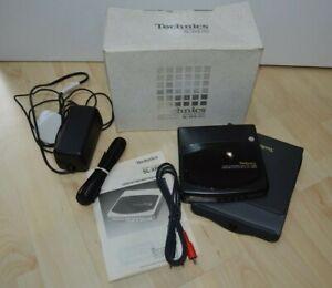 Technics SL-XP6 Portable CD Player (boxed), Case, Cables, Instructions, Ex Cond