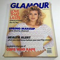 VTG Glamour Magazine: March 1993 - Daniela Pestova Cover No Label/Newsstand