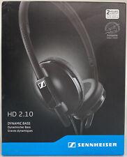 Sennheiser HD 2.10 Dynamic Bass On-ear Stereo Wired Headphones BRAND NEW/SEALED