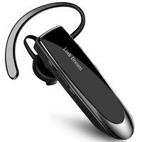 Wireless Drivers Trucker Bluetooth Noise Cancelling Mic Headset Earpiece 24 Hrs