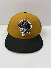 New Era 59Fifty Pittsburgh Pirates MLB Fitted Flat Peak Baseball Cap Size 7 3/8