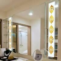 Mirror Wall Stickers Self Adhesive Decor Stick DIY Art Home Decal Decor HS