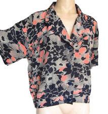 Camisas y tops de mujer blusas sin marca de seda