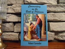 Commentary on the Book of Philemon by Robert Cavender (2016,Paperback)