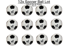 (Pack of 12) - Soccer Ball Size #5 - indoor/outdoor - bulk wholesale - durable