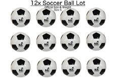 (Lot of 12x) - Soccer Ball Size #5 - indoor/outdoor - bulk wholesale