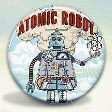 Atomic Robot Man Pocket Mirror tartx