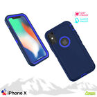 Tradesman Hard Heavy Duty Case Cover For iPhone X / iPhone 10