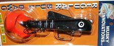 """9"""" Bull Dawg Musky Innovations Pike Black Orange Plastic Body Jerkbait Lure"""