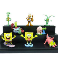 Spongebob All Characters Fish Tank Kids Decoration Squidward Aquarium Ornament