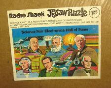 THOMAS EDISON Guglielmo Marconi MORSE inventors frame puzzle 1976 science NWT