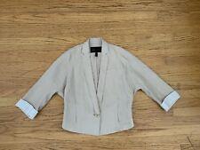 $238 BCBG MAX AZRIA Brody 3/4 sleeve cropped jacket sz XXS